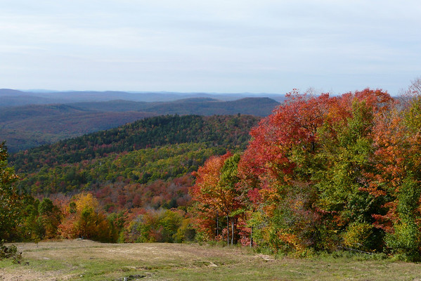 Fall Colors in Mt-Tremblant