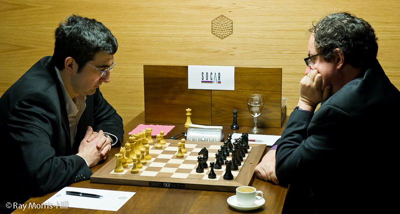 Round 13: Vladimir Kramnik vs Boris Gelfand