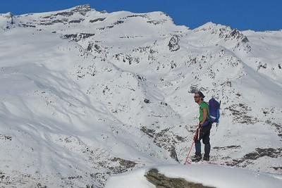 Snowshoeing Hoya del Portillo Jan 2021
