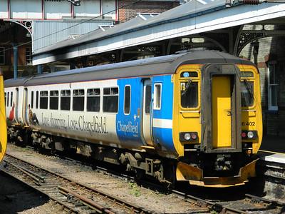 East Anglian trains