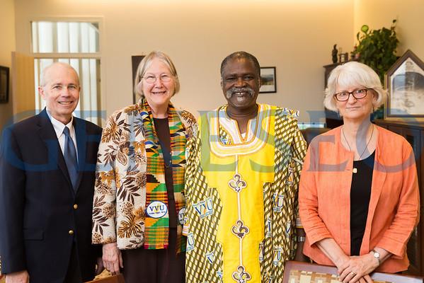 Vice Chancellor View University (Ghana) Visit