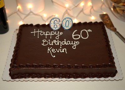 Happy 60th Birthday Kevin