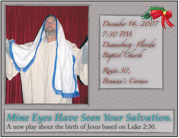 Duanesburg- Florida Baptist Church Christmas Play