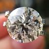 3.86ct Old European Cut Diamond GIA K VS2 42