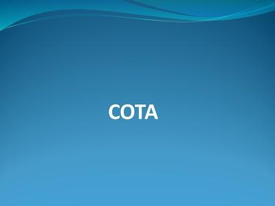 2016 COTA