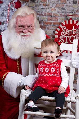 2014-11-22 Brielle Santa Pictures