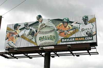 BU Baseball Billboard 2013 Season