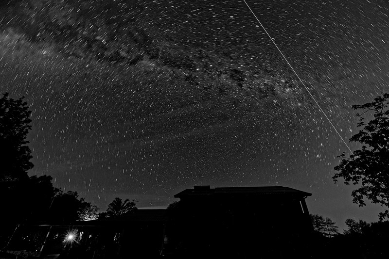 ISS overhead.