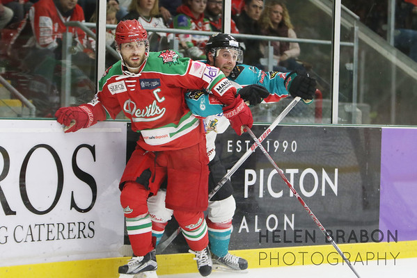Cardiff Devils vs Belfast Giants 29-10-16