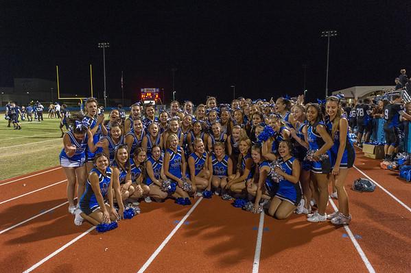 2013-09-27 MHS Homecoming Cheer