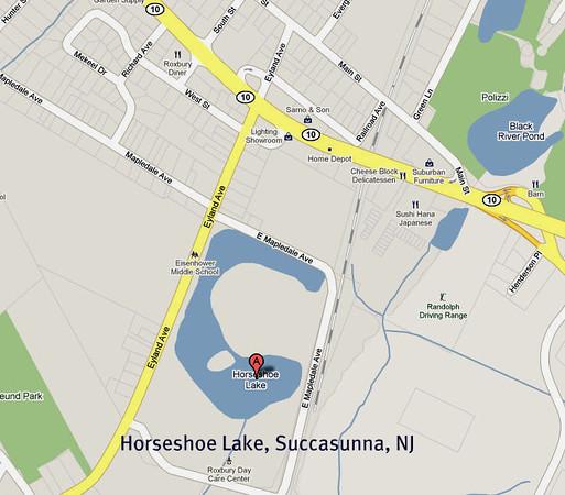 Horseshoe Lake, Roxbury, NJ