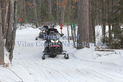 North Woods Snowmobile Trails Open