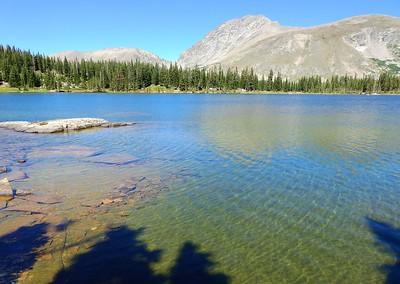 Diamond Lake via Arapaho Pass 2021