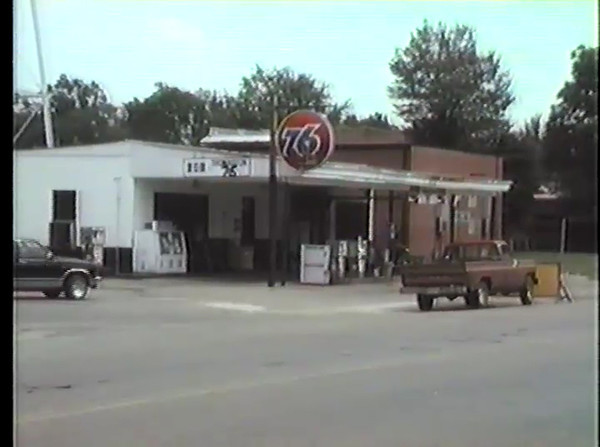 76 Gas Station located on Highway 25.