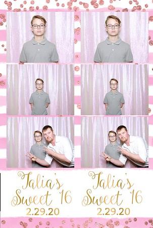 Talia's Sweet 16
