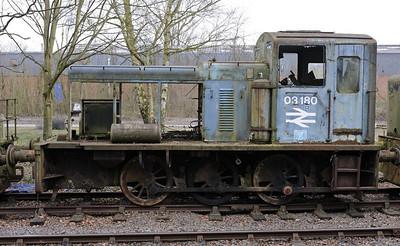 Battlefield Line diesels, 2011