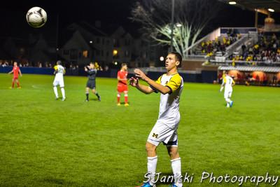 OT Photos From UM Men's Soccer Vs OSU 9-30-12