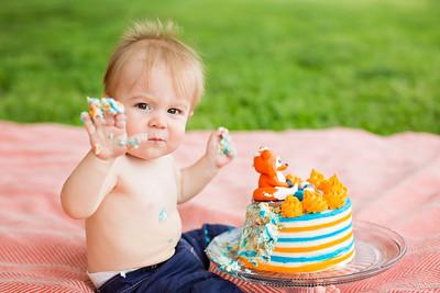 Wyatt's First Birthday 04.2019