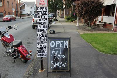 Open Stage, Tamaqua Community Arts Center, Tamaqua (8-23-2012)