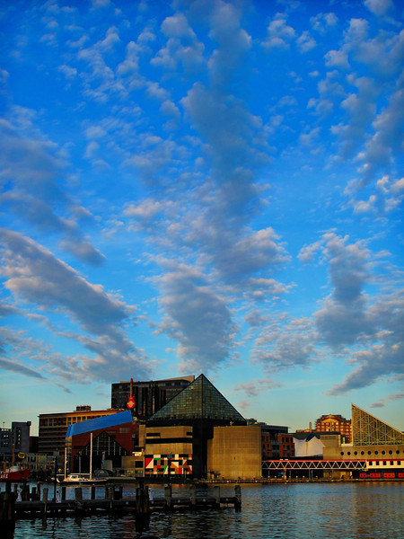 Baltimore Inner Harbour, Maryland