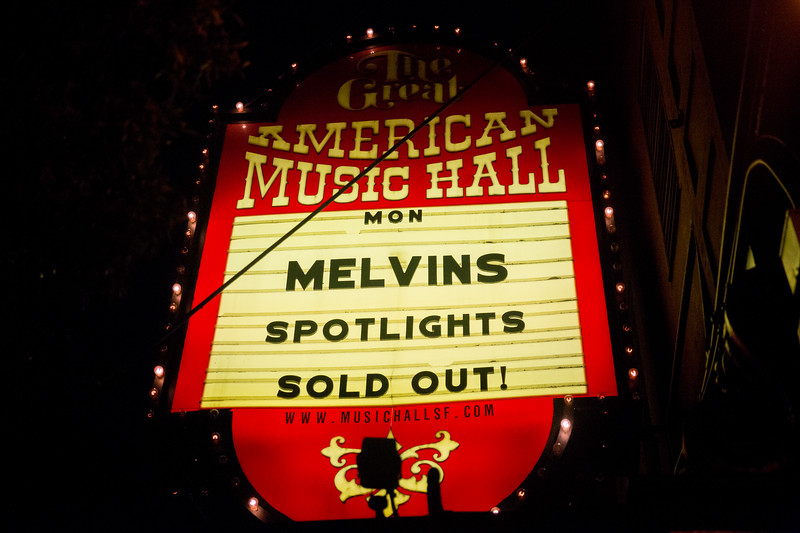 The Melvins at The Great American Music Hall