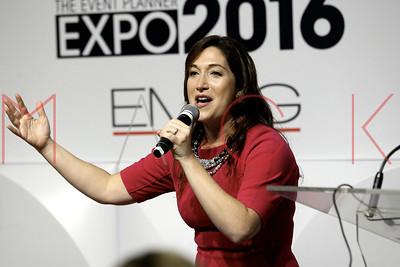 NEW YORK, NY - OCTOBER 05:  Randi Zuckerberg Speaks at Event Planner Expo 2016 at Metropolitan Pavilion.