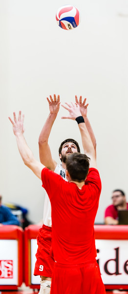 2017-03-22 MSOE Men's Volleyball vs. Carthage (1-3 L)