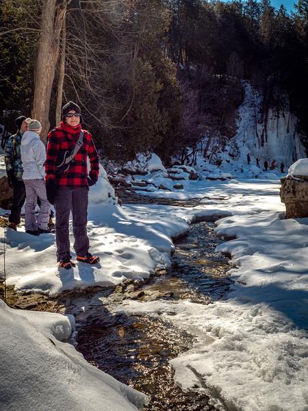 Irvine Gorge Winter Hikingg
