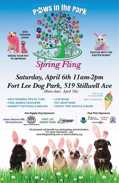 Fort Lee DOG FASHION SHOW  Apr 5, 2019