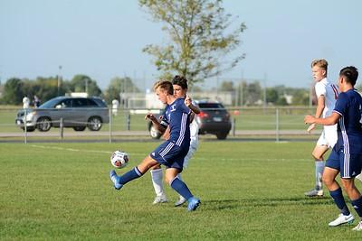OE Varsity boys soccer Vs Romeoville 2018