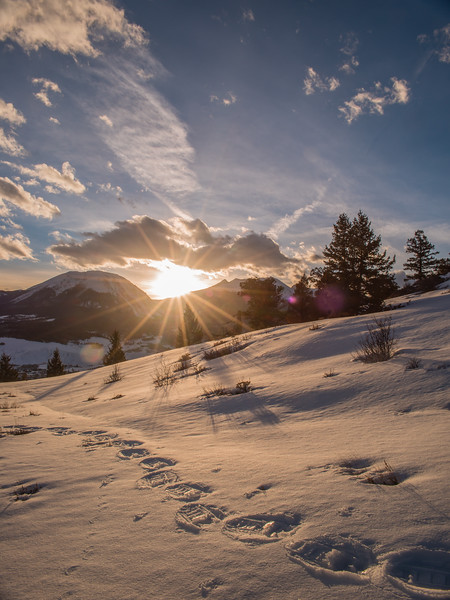 Silverthorne Sunset
