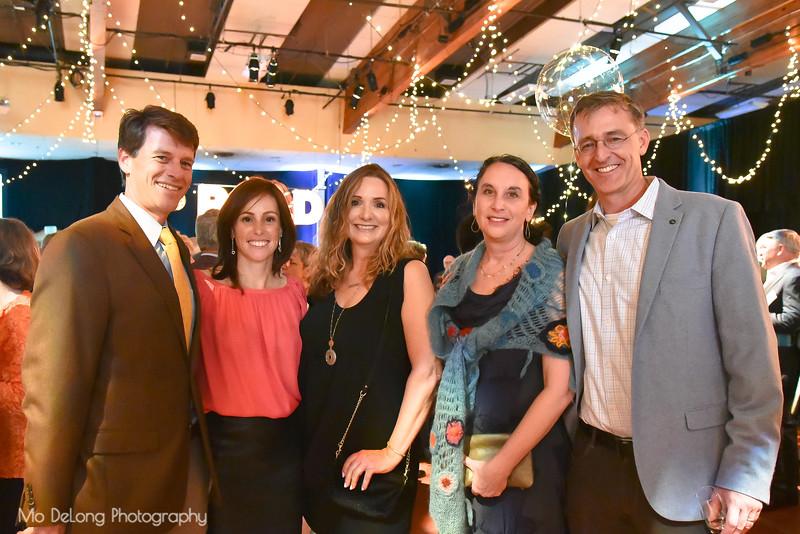 Steve and Anna Pletcher, Sally Newson, Tracey Hessel and Mark Pletcher