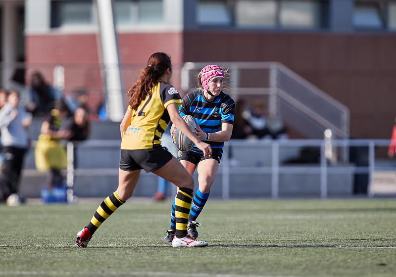 I.Industriales Femenino vs Torrelodones R.C. Femenino: 53-0