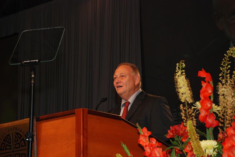 - Closing Prayer: David M. Nelson, ELCA Church Council member, Bertrand, Neb.