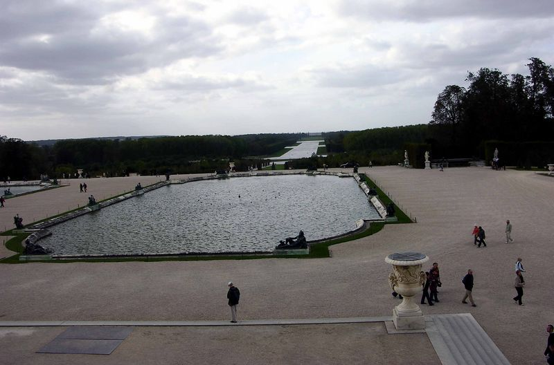 View of Gardens from the Palace of Versailles