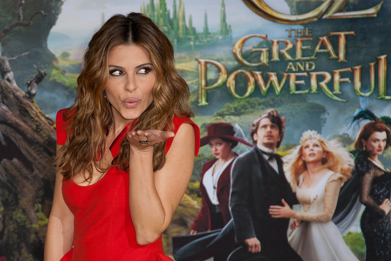 HOLLYWOOD; CA - FEBRUARY 13: Actress Maria Menounos arrives at the world premiere of Walt Disney Pictures' 'Oz The Great And Powerful' at the El Capitan Theatre on Wednesday February 13; 2013 in Hollywood; California. (Photo by Tom Sorensen/Moovieboy Pictures)