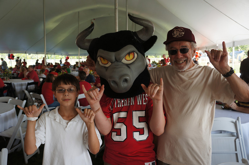 Lutheran-West-Longhorn-at-Unveiling-Bash-and-BBQ-at-Alumni-Field--2012-08-31-067.JPG