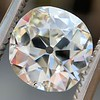 2.25ct Antique Cushion, GIA K SI2 0