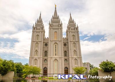 Salt Lake City, Utah Temple