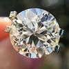 3.86ct Old European Cut Diamond GIA K VS2 52