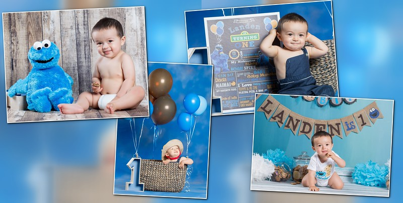 Baby Landen 1 Year Old