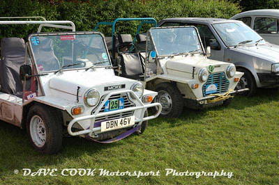 Cars, Start and Finish  - Ilkley Trial
