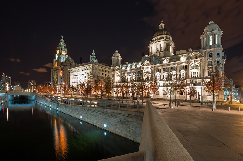 The Three Graces, Pier Head, Liverpool