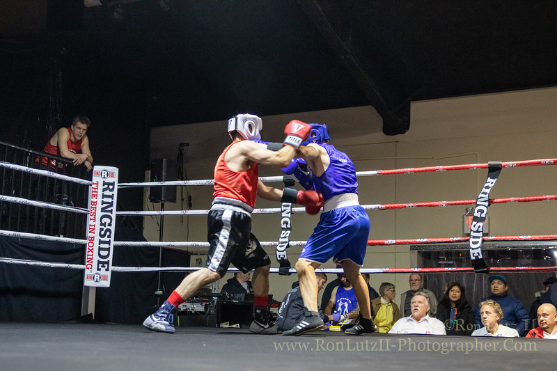 2019 White Collar Boxing Event - Bout 2