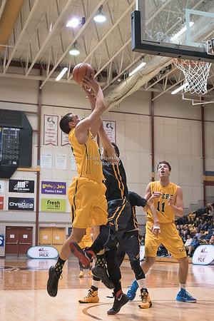 AAAA Boys Semi Finals Varsity Basketball Provincials 2016