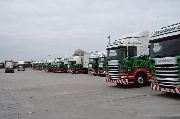 Eddie Stobart Appleton Thorne Depot 20th May 2012