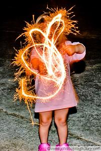 2009 07 04 Sparklers!
