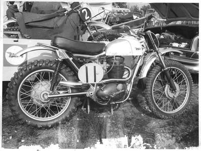Classic 4-stroke Motocross
