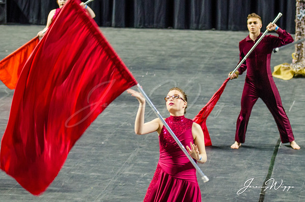 Virginia High Winterguard