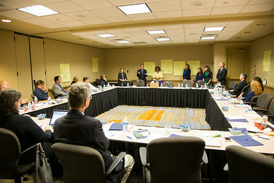 NDI annual staff retreat event photos, a non-profit corporation based in Washington, DC.